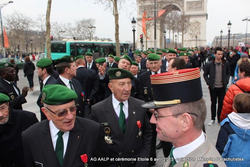 AG de l'AALP - Amicale des Anciens Légionnaires Parachutistes -INVALIDES - ETOILE Img_6815