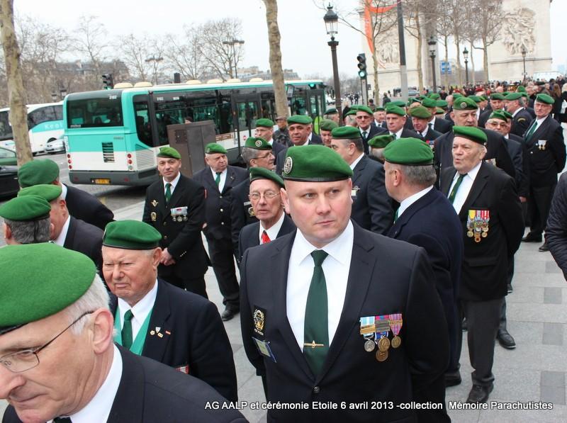 AG de l'AALP - Amicale des Anciens Légionnaires Parachutistes -INVALIDES - ETOILE Img_6817