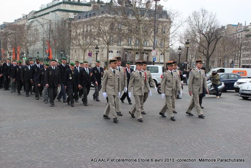 AG de l'AALP - Amicale des Anciens Légionnaires Parachutistes -INVALIDES - ETOILE Img_6822