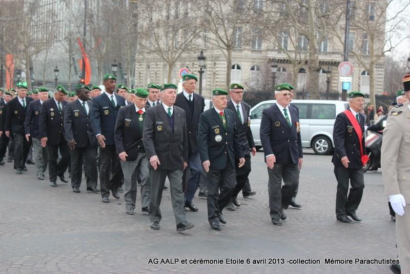 AG de l'AALP - Amicale des Anciens Légionnaires Parachutistes -INVALIDES - ETOILE Img_6823