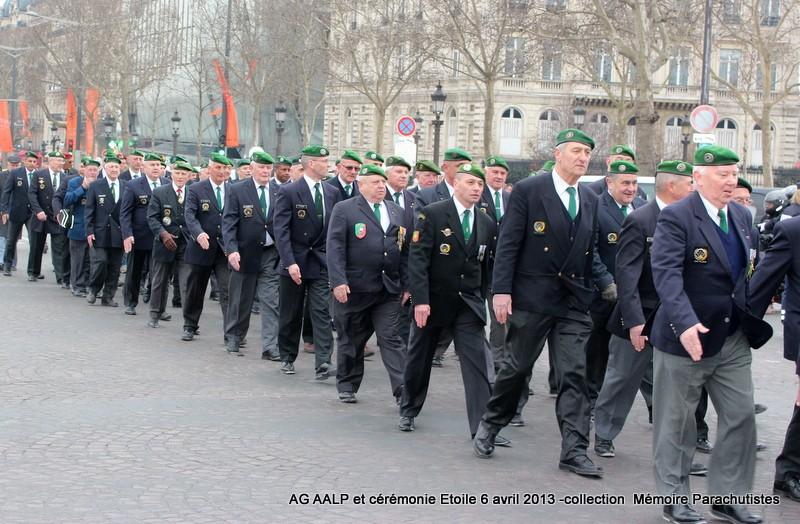 AG de l'AALP - Amicale des Anciens Légionnaires Parachutistes -INVALIDES - ETOILE Img_6824