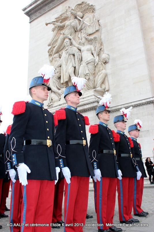 AG de l'AALP - Amicale des Anciens Légionnaires Parachutistes -INVALIDES - ETOILE Img_6827