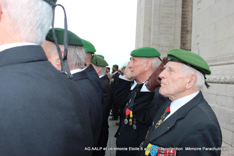 AG de l'AALP - Amicale des Anciens Légionnaires Parachutistes -INVALIDES - ETOILE Img_6829