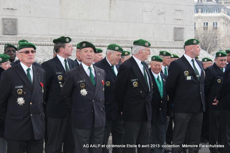 AG de l'AALP - Amicale des Anciens Légionnaires Parachutistes -INVALIDES - ETOILE Img_6832
