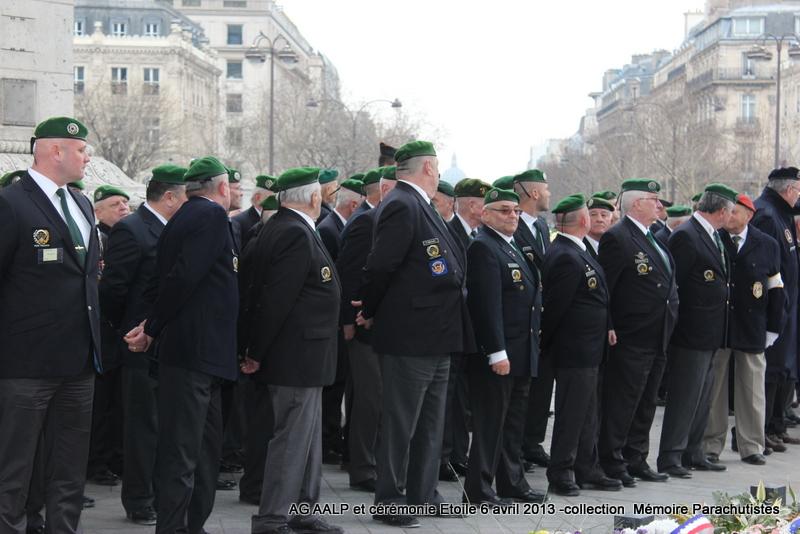 AG de l'AALP - Amicale des Anciens Légionnaires Parachutistes -INVALIDES - ETOILE Img_6833