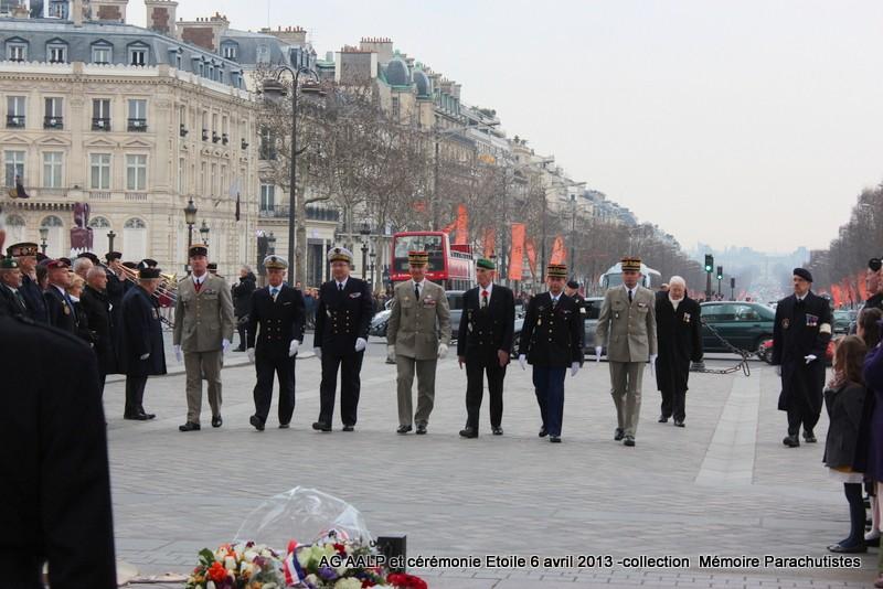 AG de l'AALP - Amicale des Anciens Légionnaires Parachutistes -INVALIDES - ETOILE Img_6834