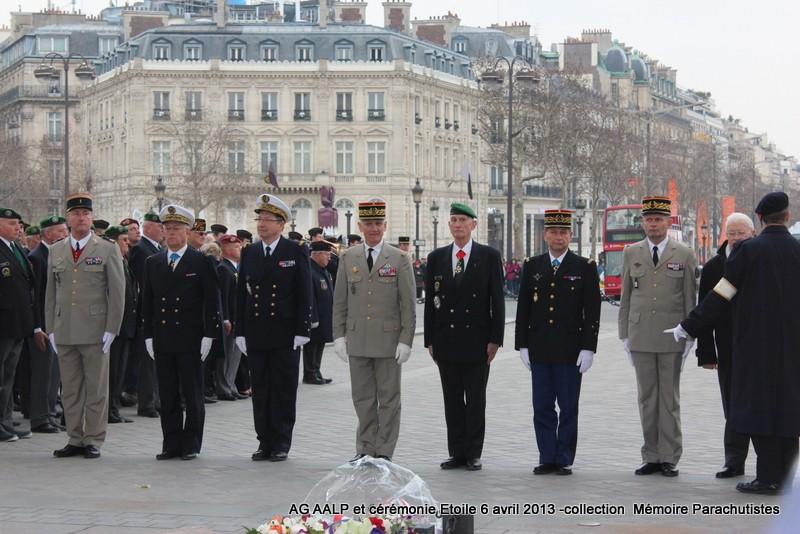 AG de l'AALP - Amicale des Anciens Légionnaires Parachutistes -INVALIDES - ETOILE Img_6835