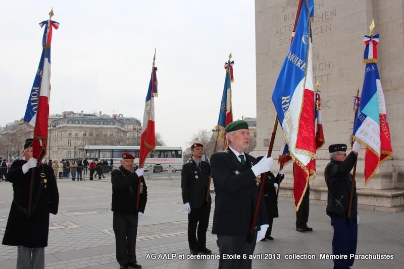 AG de l'AALP - Amicale des Anciens Légionnaires Parachutistes -INVALIDES - ETOILE Img_6836