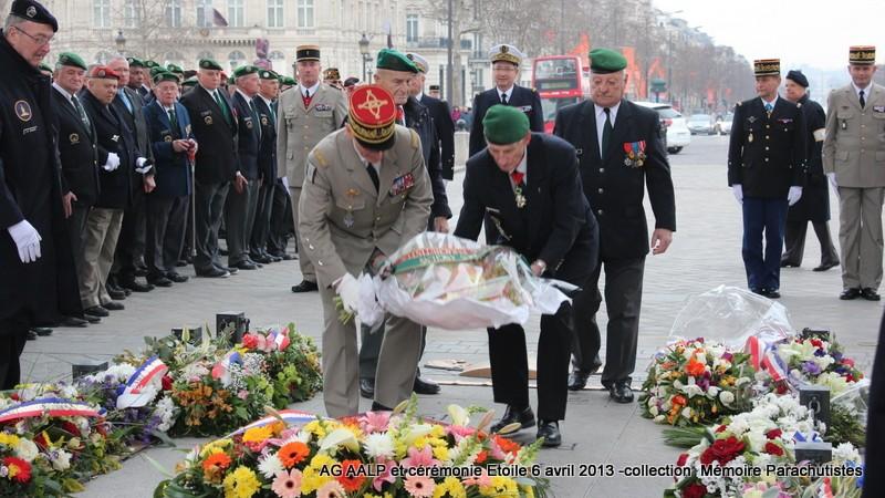 AG de l'AALP - Amicale des Anciens Légionnaires Parachutistes -INVALIDES - ETOILE Img_6837