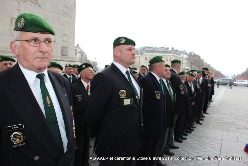 AG de l'AALP - Amicale des Anciens Légionnaires Parachutistes -INVALIDES - ETOILE Img_6912