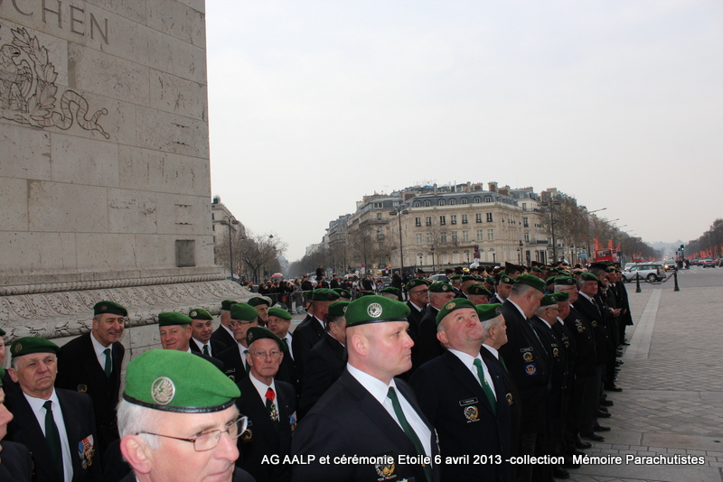 AG de l'AALP - Amicale des Anciens Légionnaires Parachutistes -INVALIDES - ETOILE Img_6913