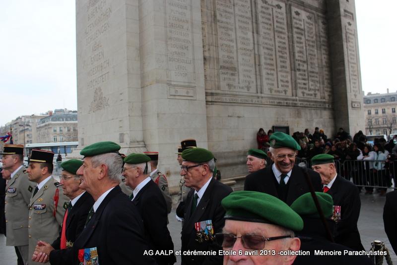 AG de l'AALP - Amicale des Anciens Légionnaires Parachutistes -INVALIDES - ETOILE Img_6914