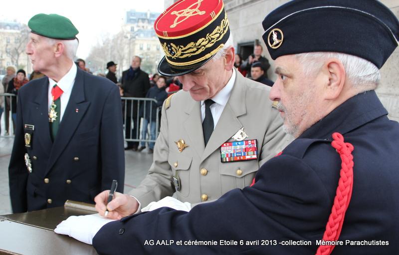 AG de l'AALP - Amicale des Anciens Légionnaires Parachutistes -INVALIDES - ETOILE Img_6915