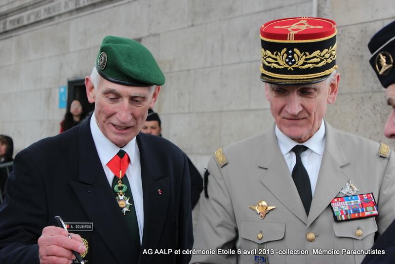 AG de l'AALP - Amicale des Anciens Légionnaires Parachutistes -INVALIDES - ETOILE Img_6917