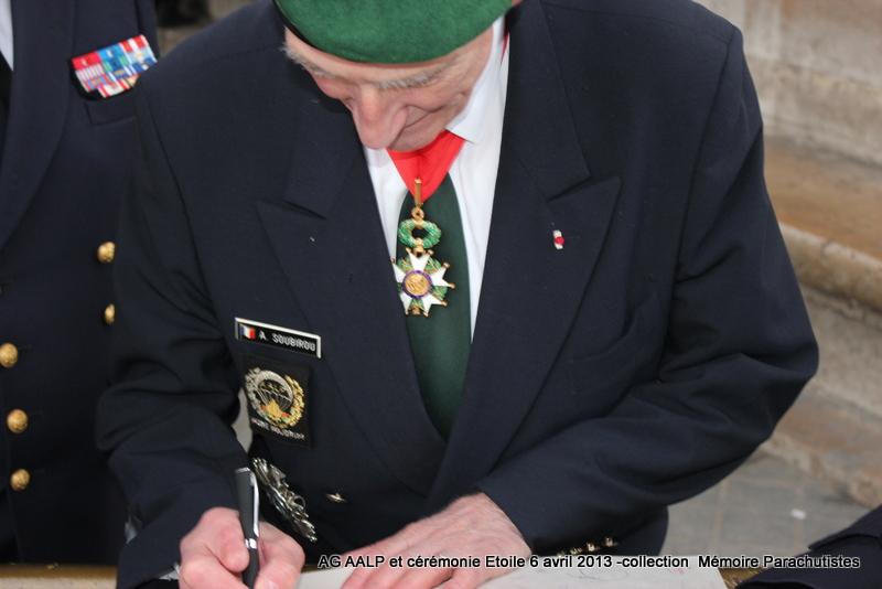 AG de l'AALP - Amicale des Anciens Légionnaires Parachutistes -INVALIDES - ETOILE Img_6918