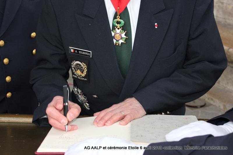 AG de l'AALP - Amicale des Anciens Légionnaires Parachutistes -INVALIDES - ETOILE Img_6919