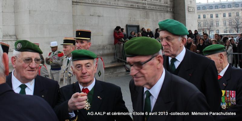 AG de l'AALP - Amicale des Anciens Légionnaires Parachutistes -INVALIDES - ETOILE Img_6920