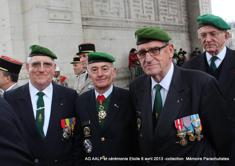 AG de l'AALP - Amicale des Anciens Légionnaires Parachutistes -INVALIDES - ETOILE Img_6921