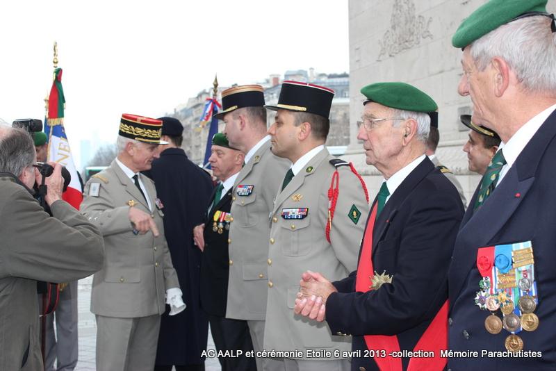 AG de l'AALP - Amicale des Anciens Légionnaires Parachutistes -INVALIDES - ETOILE Img_6922