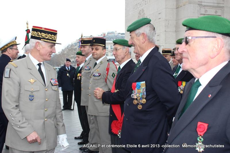 AG de l'AALP - Amicale des Anciens Légionnaires Parachutistes -INVALIDES - ETOILE Img_6923