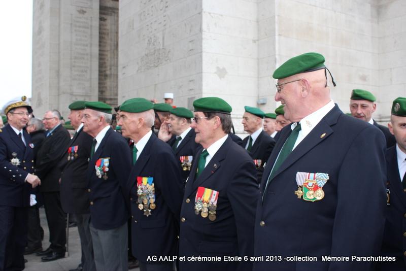 AG de l'AALP - Amicale des Anciens Légionnaires Parachutistes -INVALIDES - ETOILE Img_6927