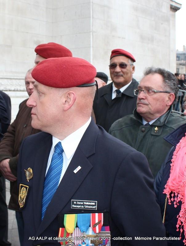 AG de l'AALP - Amicale des Anciens Légionnaires Parachutistes -INVALIDES - ETOILE Img_6929