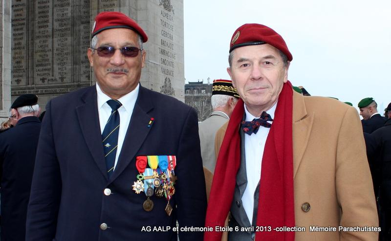 AG de l'AALP - Amicale des Anciens Légionnaires Parachutistes -INVALIDES - ETOILE Img_6931