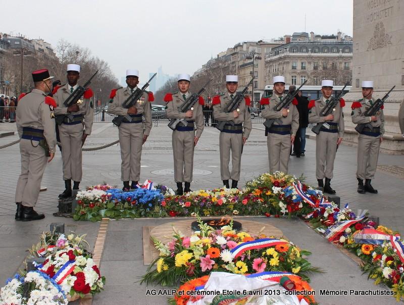 AG de l'AALP - Amicale des Anciens Légionnaires Parachutistes -INVALIDES - ETOILE Img_6932