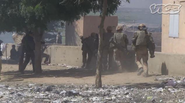 À Gao, l'armée n'a pas eu le temps de mettre les journalistes à l'écart Mali_g10