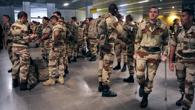 1er RCP de retour du Mali à Pamiers Retour10