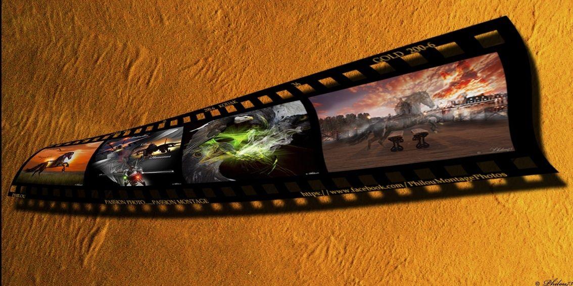 Créer une pellicule photo-diapo avec photoshop - Page 2 Pellic11