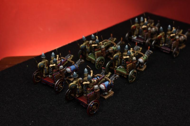 Carros Asirios de Chariot Miniatures 15mm Img_4611