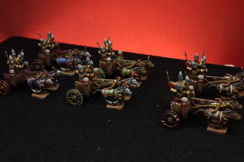 Carros Asirios de Chariot Miniatures 15mm Img_4612