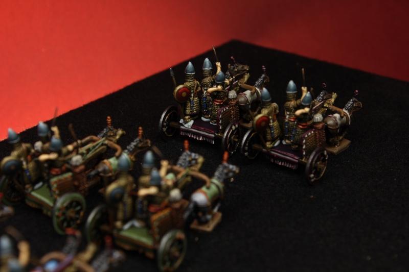 Carros Asirios de Chariot Miniatures 15mm Img_4613