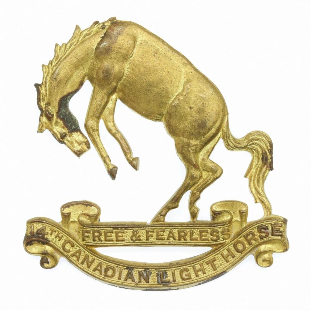 14th Hussars badge Img_7610