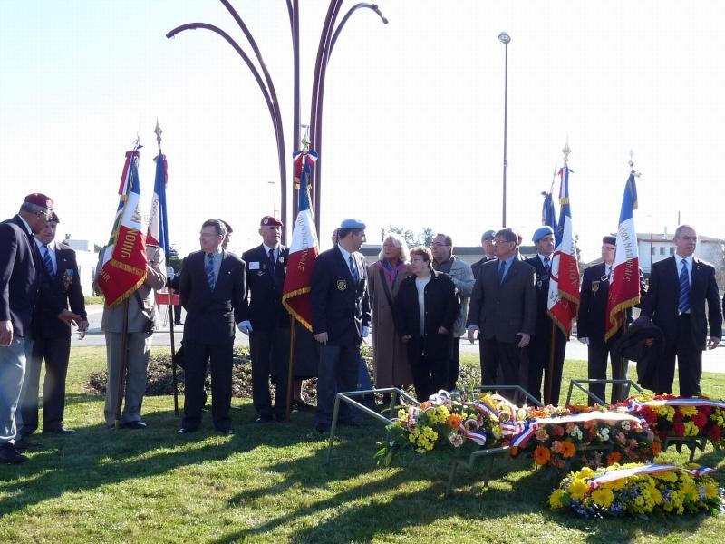 Le 30ème anniversaire de l'attentat du DRAKKAR 58 parachutistes des 1er et 9ème Régiment de Chasseurs Parachutistes écrasés sous les décombres de l'immeuble Drakkar à Beyrouth P1020211