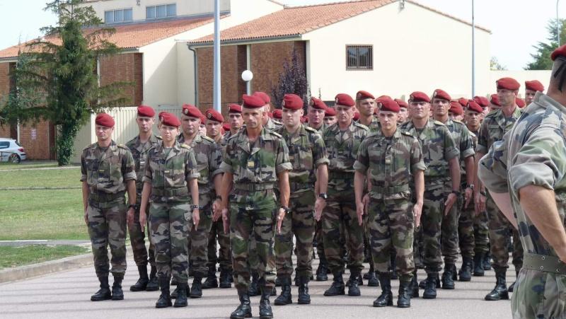 1er RCP - 9ème RCP Saint Michel au quartier Beaumont à Pamiers amicales du 1° et 9° R.C.P. P1050311