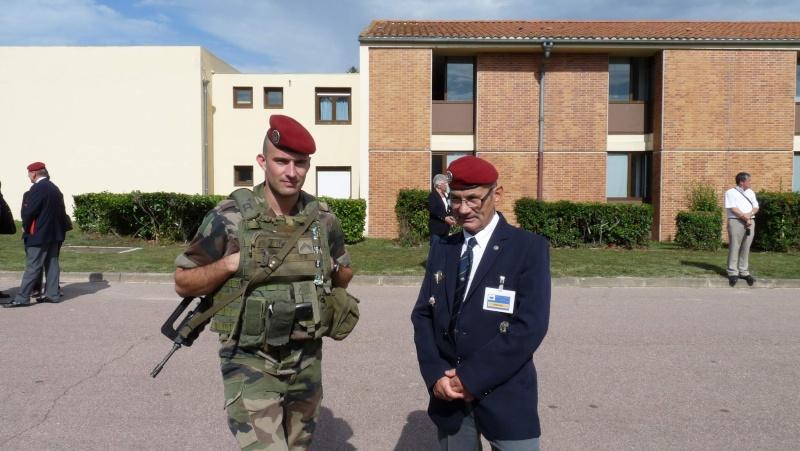 1er RCP - 9ème RCP Saint Michel au quartier Beaumont à Pamiers amicales du 1° et 9° R.C.P. P1050313