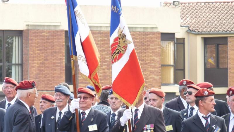 1er RCP - 9ème RCP Saint Michel au quartier Beaumont à Pamiers amicales du 1° et 9° R.C.P. P1050317