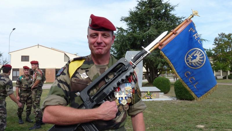 1er RCP - 9ème RCP Saint Michel au quartier Beaumont à Pamiers amicales du 1° et 9° R.C.P. P1050318