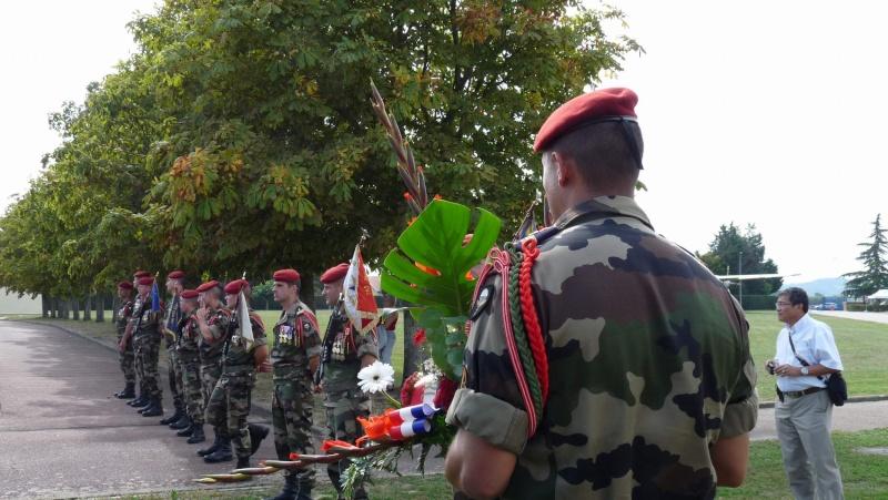 1er RCP - 9ème RCP Saint Michel au quartier Beaumont à Pamiers amicales du 1° et 9° R.C.P. P1050321