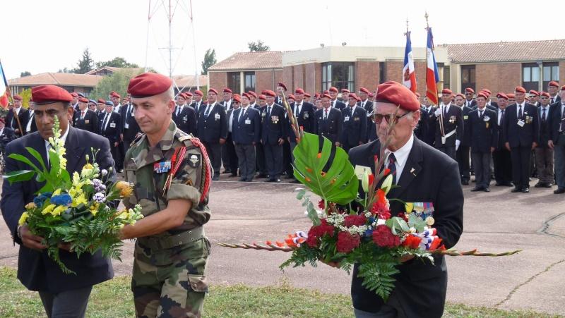 1er RCP - 9ème RCP Saint Michel au quartier Beaumont à Pamiers amicales du 1° et 9° R.C.P. P1050323