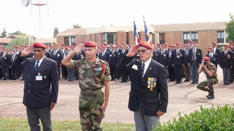1er RCP - 9ème RCP Saint Michel au quartier Beaumont à Pamiers amicales du 1° et 9° R.C.P. P1050324