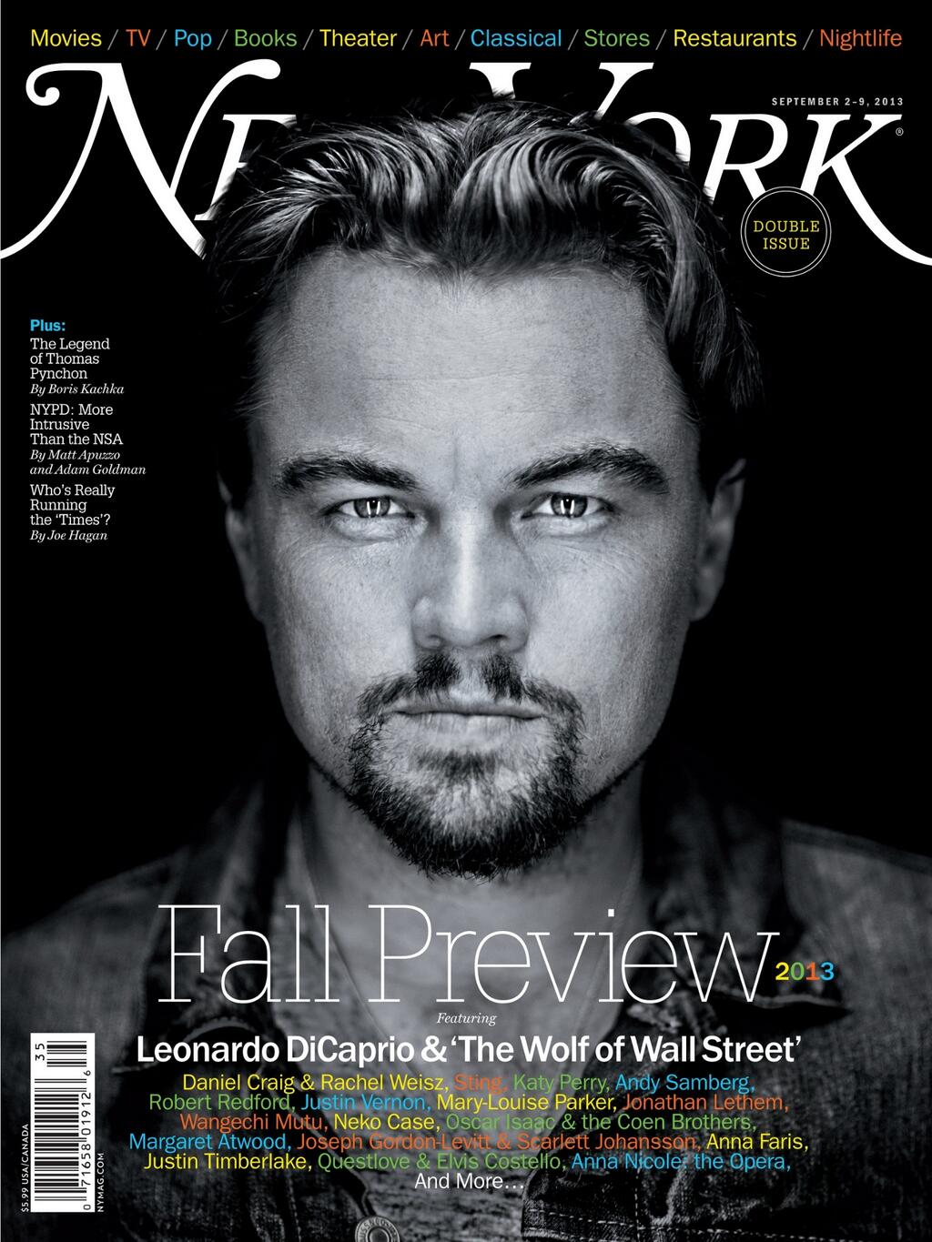 NEW YORK MAG [FALL PREVIEW] THE WOLF OF WALL STREET Dicapr11