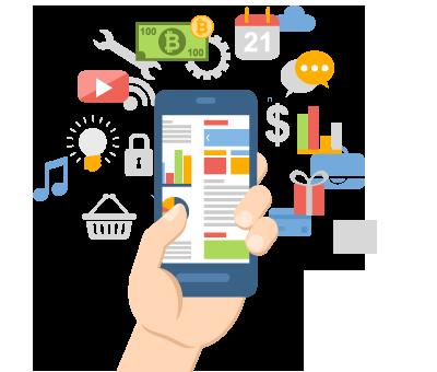 مشروعات الموبيل Mobile Applications Mobile10