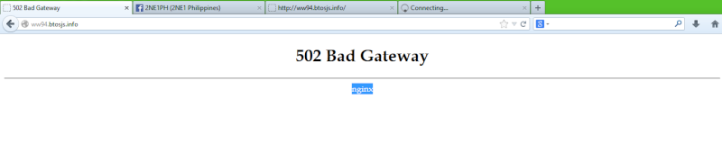 502 Bad Gateway and a WTF site Wtf_is10