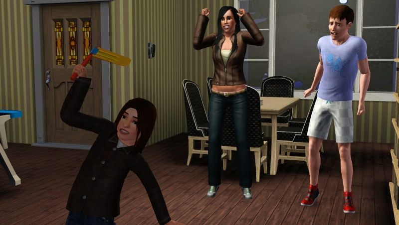 Les Sims 3 - Teen Wolf edition Screen11