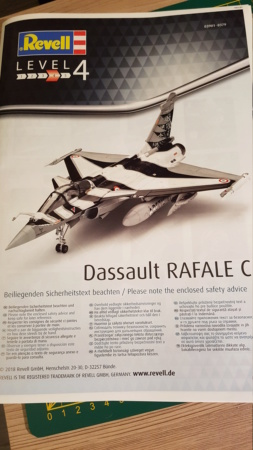 Rafale C 1/48 Revell 20181121