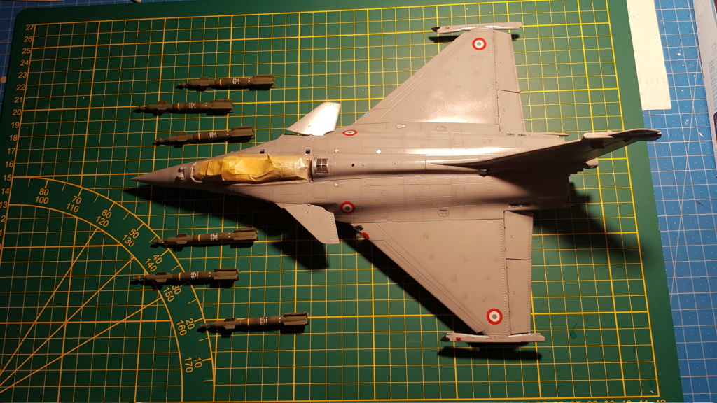 Rafale C 1/48 Revell - Page 6 20190122