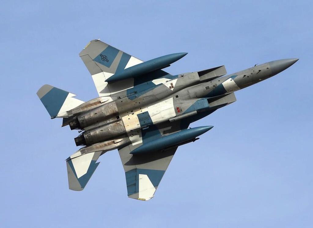 F-15C Agressor splinter camo 1/48 GWH 889e0810